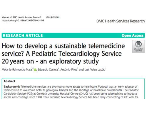 Como desenvolver um serviço sustentável de telemedicina?